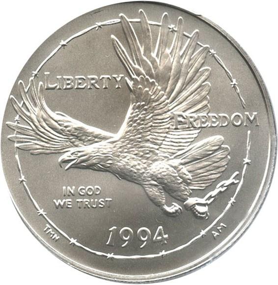 sample image for 1994-W Prisoner of War $1  MS