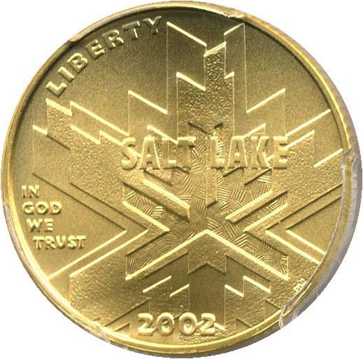 sample image for 2002-W Salt Lake City Olympics $5  MS