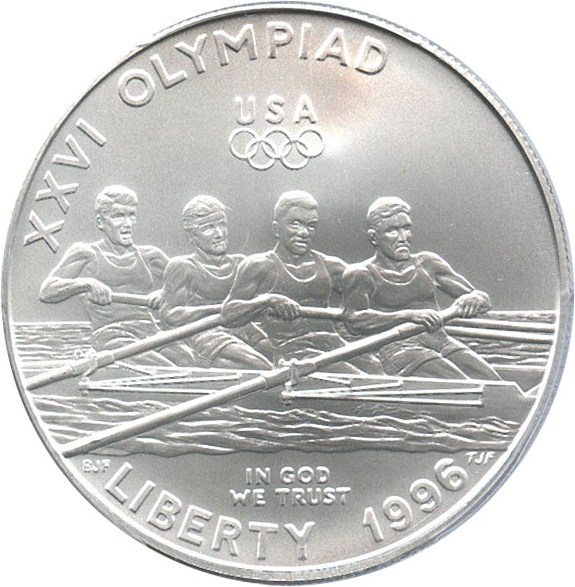 sample image for 1996-D Olympic Rowing $1  MS