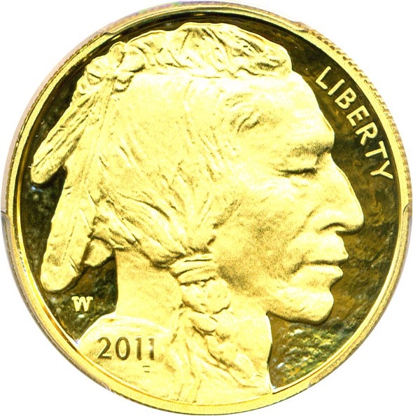 sample image for 2011-W American Buffalo $50  PR DCAM
