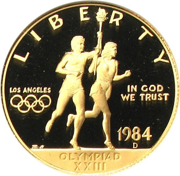 sample image for 1984-D Olympic $10  PR DCAM