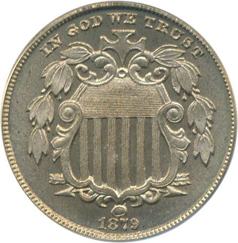 sample image for 1879/8 5c PR