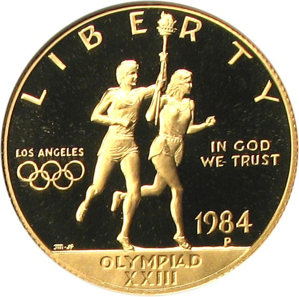 sample image for 1984-P Olympic $10  PR DCAM