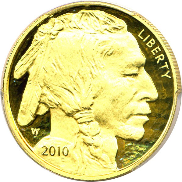 sample image for 2010-W American Buffalo $50  PR DCAM