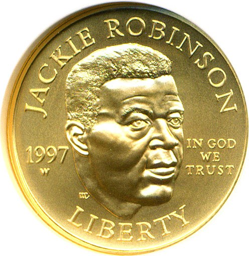 sample image for 1997-W Jackie Robinson $5  MS
