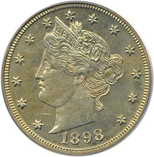 sample image for 1898 5c PR