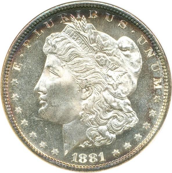 sample image for 1881-S $1  MS DMPL