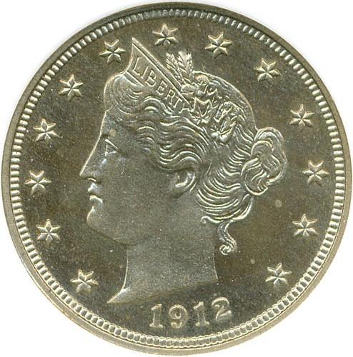 sample image for 1912 5c PR