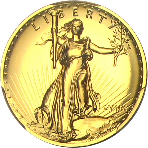 sample image for 2009-P Ultra High Relief $20  MS