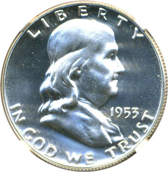 sample image for 1953 50c PR