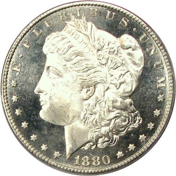 sample image for 1880-S $1  MS DMPL