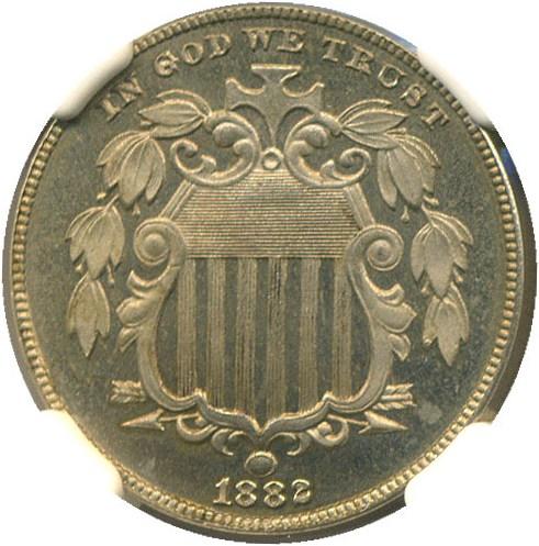 sample image for 1882 5c PR