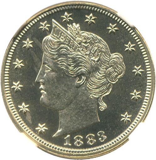 sample image for 1883 5c PR CAM No Cents