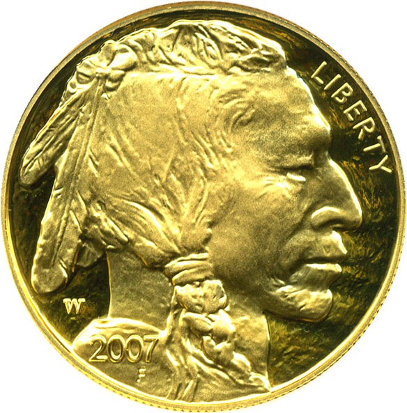 sample image for 2007-W American Buffalo $50  PR DCAM