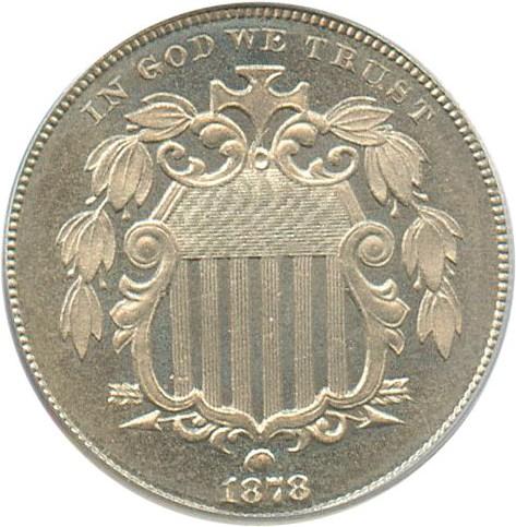 sample image for 1878 5c PR