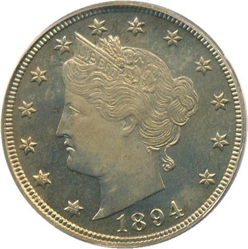 sample image for 1894 5c PR