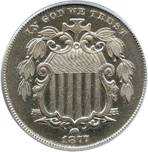 sample image for 1877 5c PR
