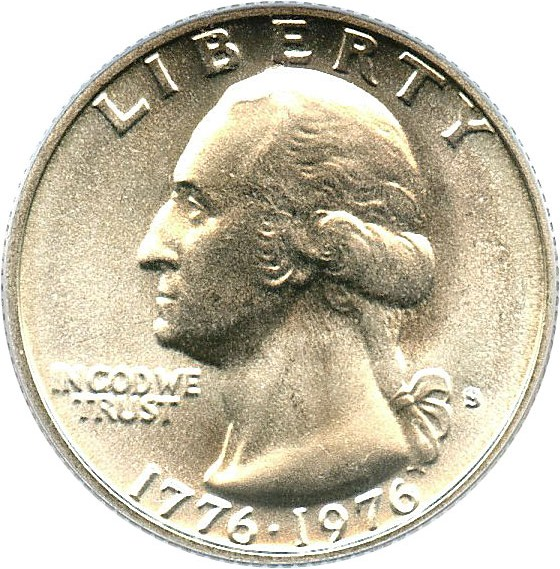 sample image for 1976-S 25c MS Silver