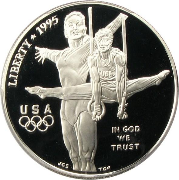 sample image for 1995-P Olympic Gymnastics $1  PR DCAM