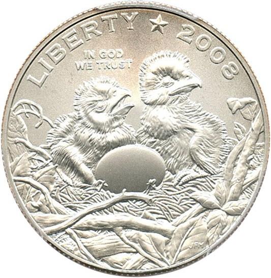 sample image for 2008-S Bald Eagle 50c MS