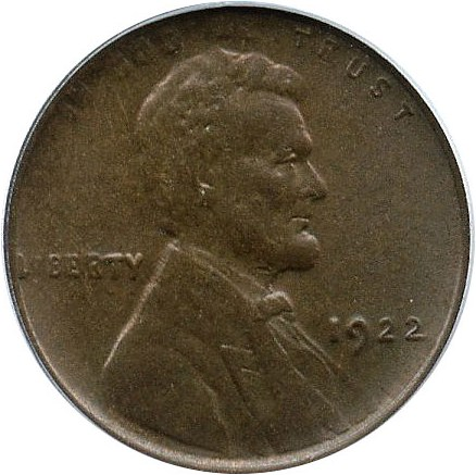 sample image for 1922 No D, Str Rev