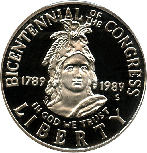 sample image for 1989-S Congress 50c PR DCAM
