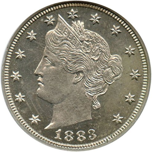 sample image for 1883 5c PR With Cents