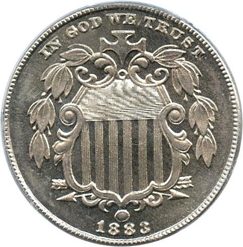 sample image for 1883 Shield 5c PR