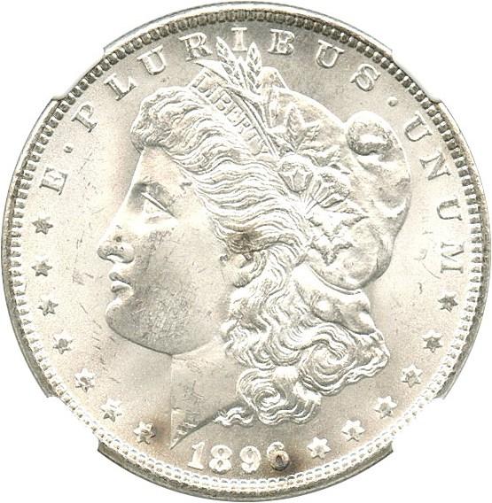 sample image for 1896 $1  MS VAM-19, 8 in Denticles