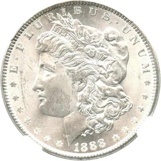 sample image for 1888 $1  MS VAM-7, Doubled Reverse