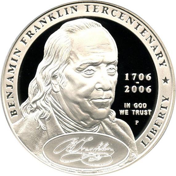 sample image for 2006-P Ben Franklin-Founding Father $1  PR DCAM