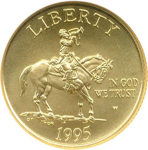 sample image for 1995-W Civil War $5  MS