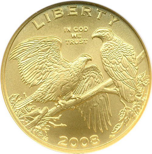 sample image for 2008-W Bald Eagle $5  MS