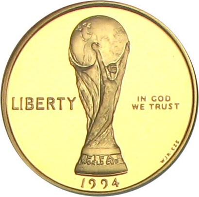 sample image for 1994-W World Cup $5  PR DCAM