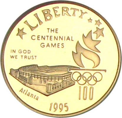 sample image for 1995-W Olympic Stadium $5  PR DCAM