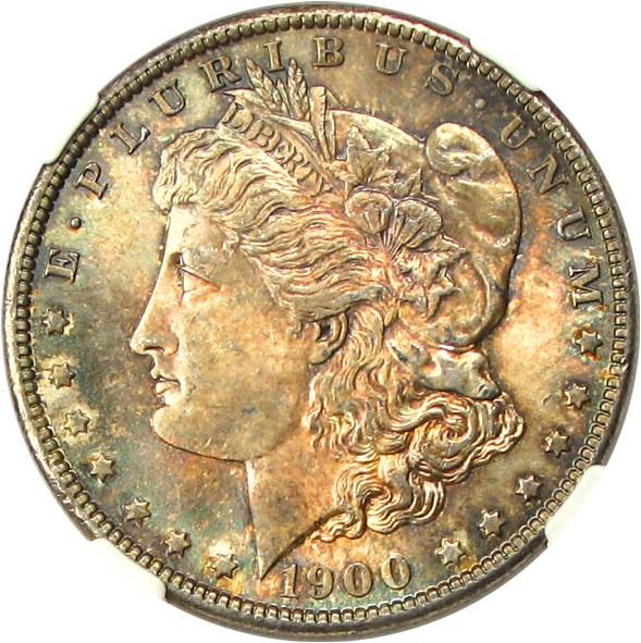 sample image for 1900-O $1  MS VAM-11, O/CC