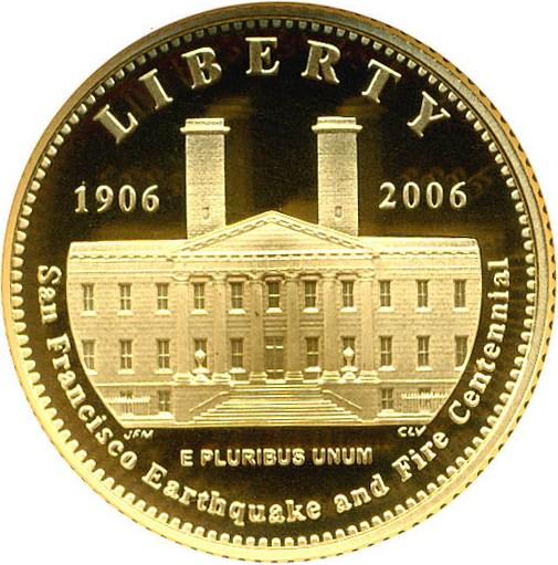 sample image for 2006-S San Francisco Old Mint $5  PR DCAM