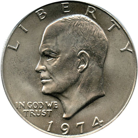 sample image for 1974 $1  MS