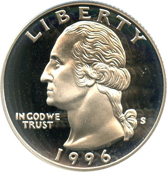 sample image for 1996-S Silver DCAM