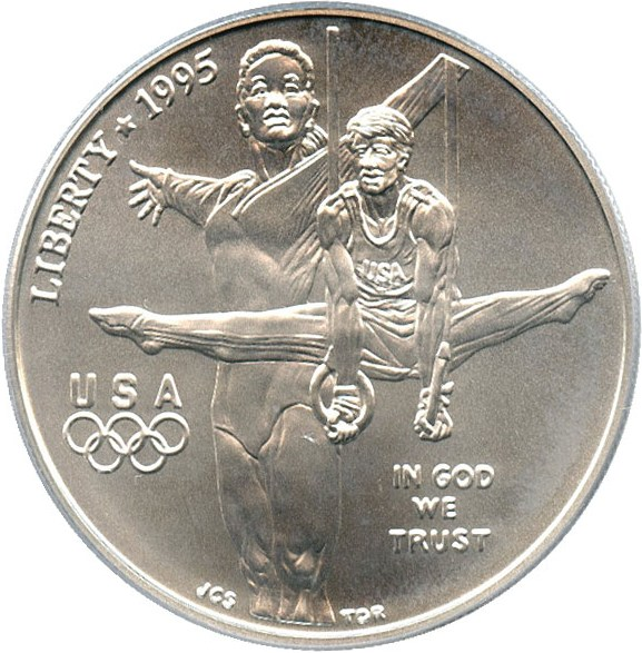 sample image for 1995-D Olympic Gymnastics $1  MS