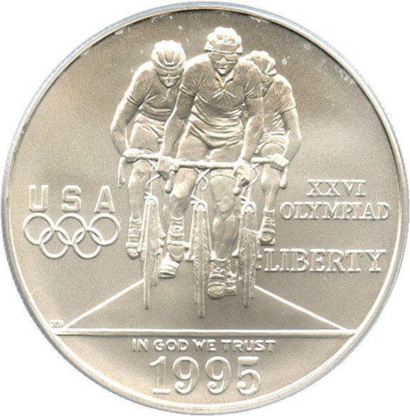 sample image for 1995-D Olympic Cycling $1  MS