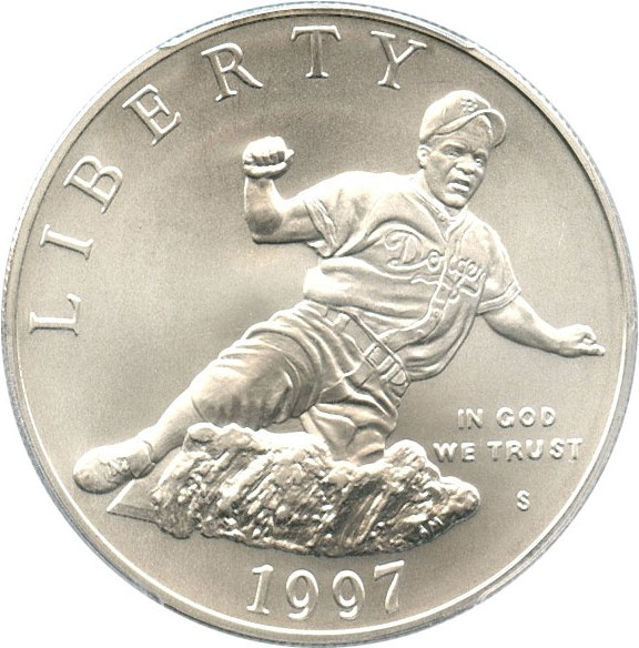 sample image for 1997-S Jackie Robinson $1  MS