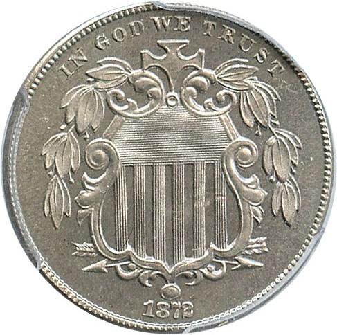 sample image for 1872 5c PR