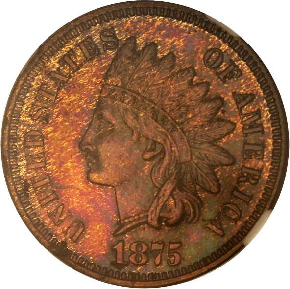 sample image for 1875 1c PR BN