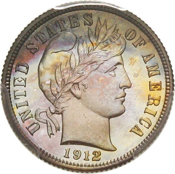 sample image for 1912 10c PR