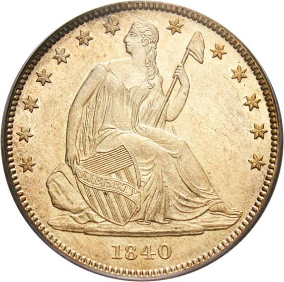 sample image for 1840-(O) 50c MS Medium Letters, Rev. 1838