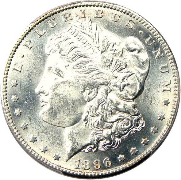 sample image for 1896-S $1  MS VAM-5, S/S