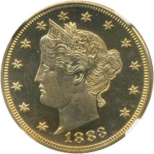 sample image for 1883 5c PR CAM With Cents