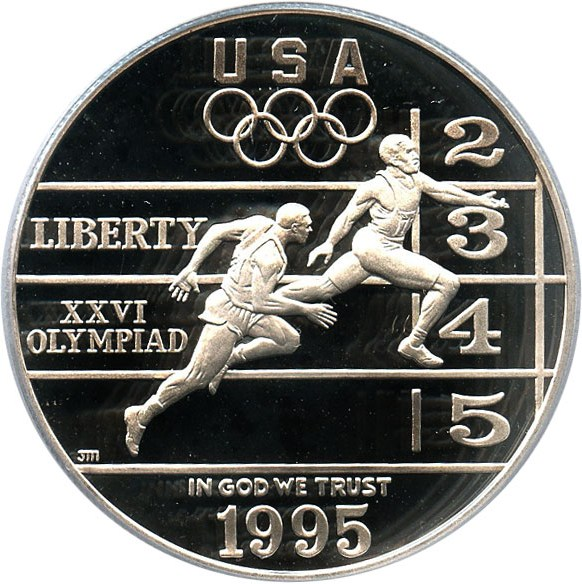 sample image for 1995-P Olympic Track & Field $1  PR DCAM