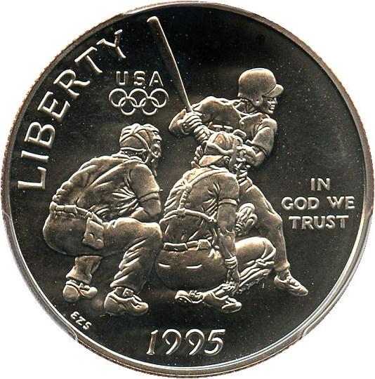 sample image for 1995-S Olympic Baseball 50c MS